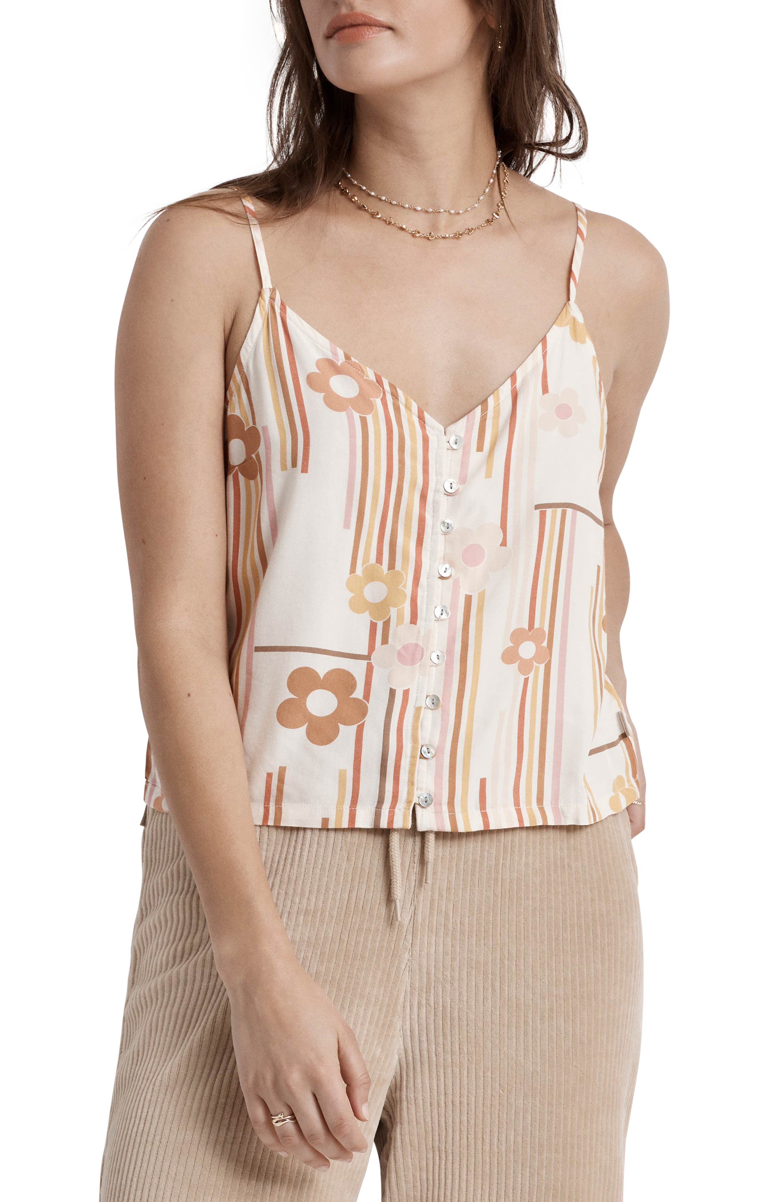Night Fever Button-Up Camisole