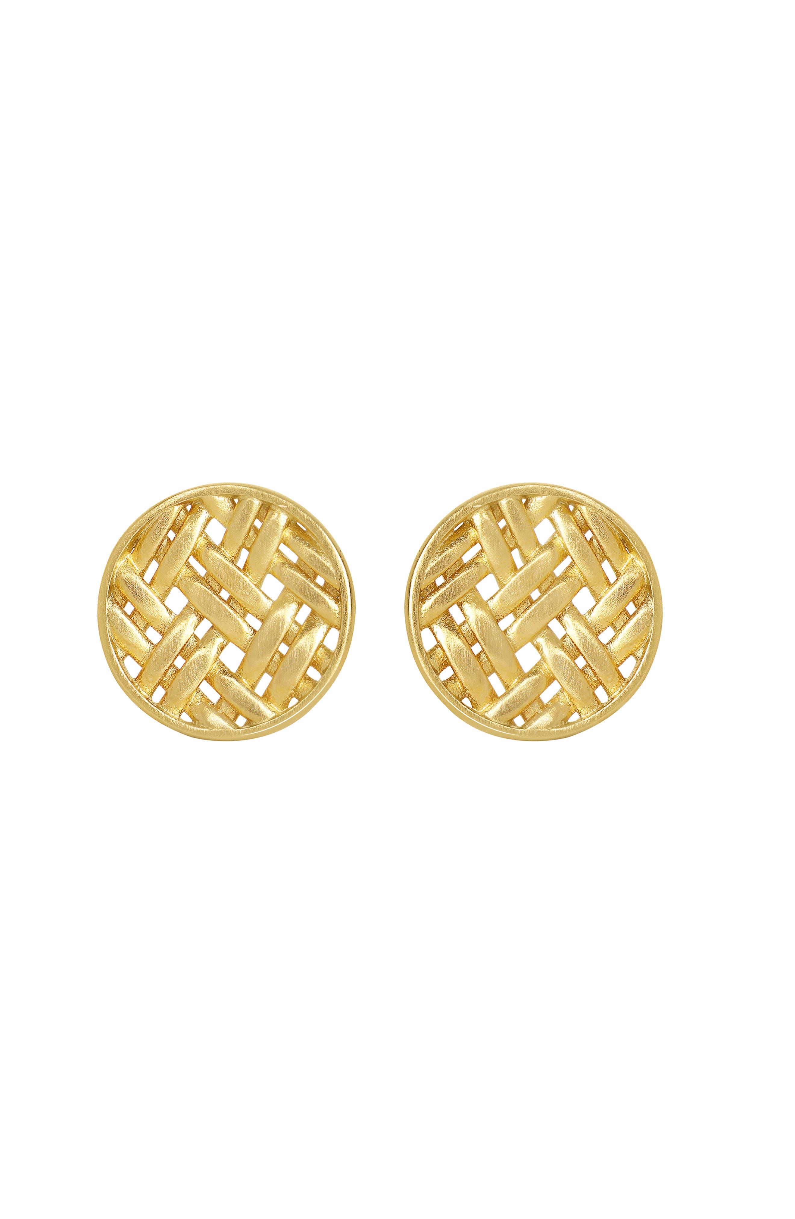 Weave Stud Earrings