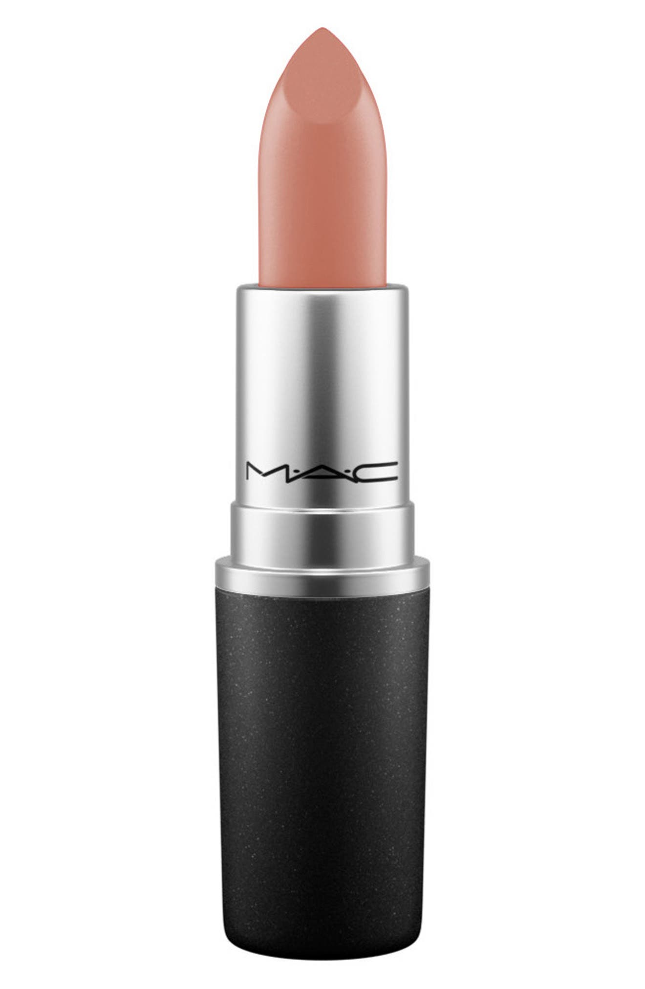 ,                             MAC Strip Down Nude Lipstick,                             Main thumbnail 538, color,                             607
