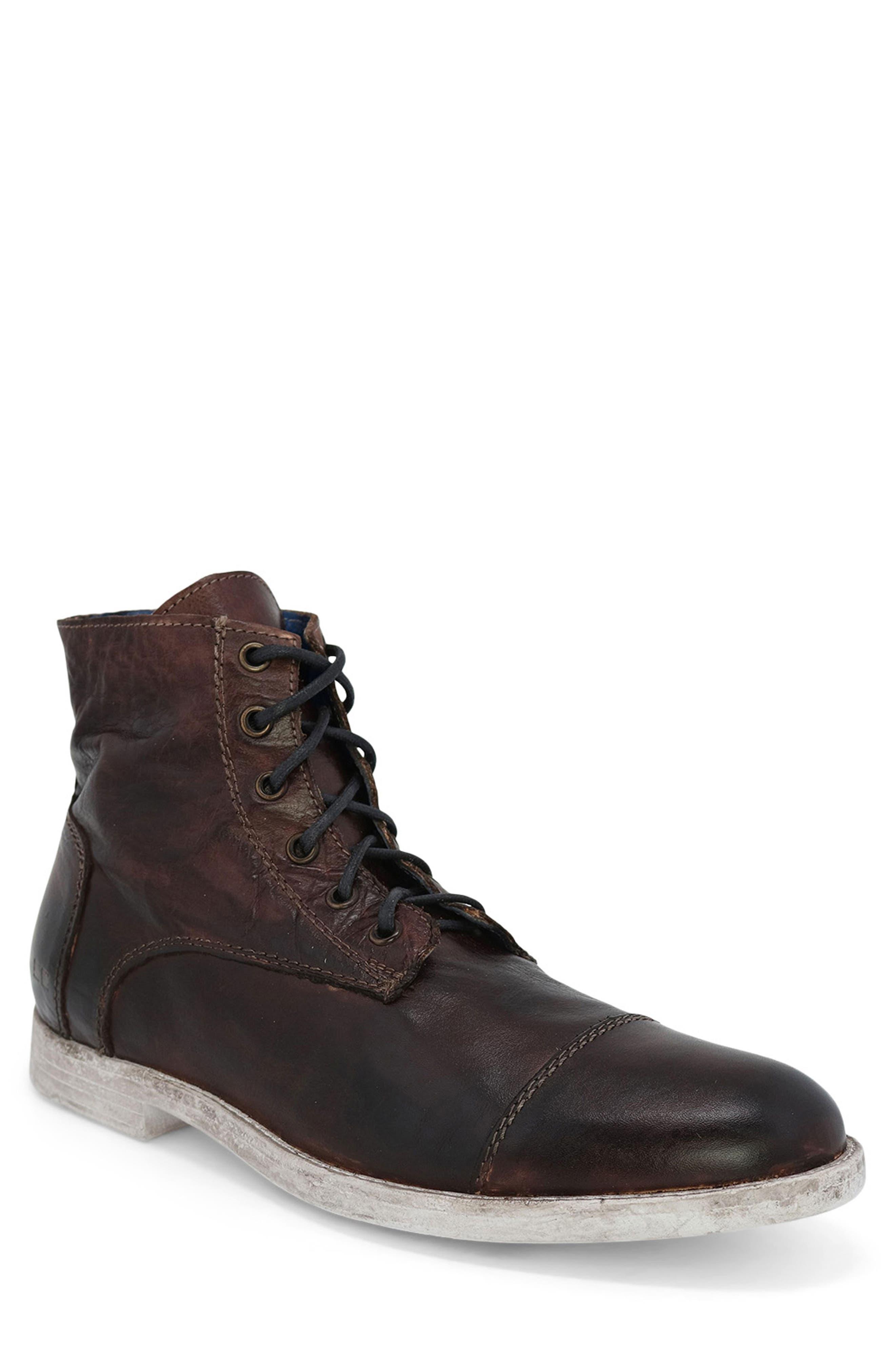 Leonardo Cap Toe Boot