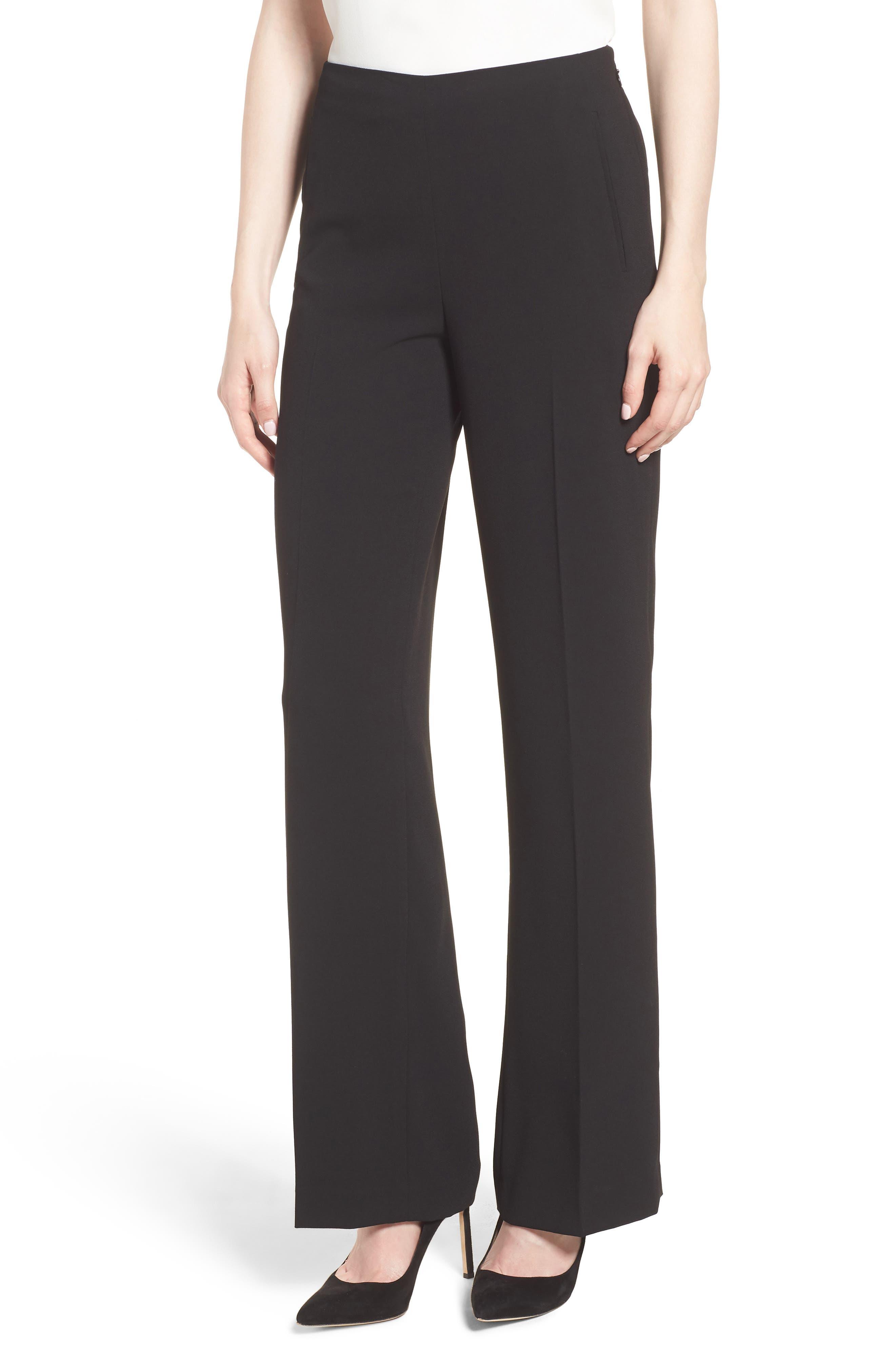 Women's Cece Crepe Straight Leg Pants