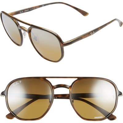 Ray-Ban 5m Square Sunglasses - Havana