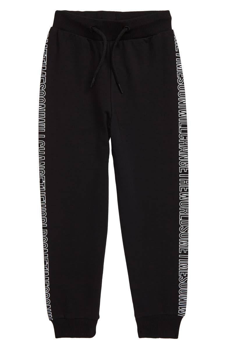 SOMETIME SOON Zuma Sweatpants, Main, color, BLACK