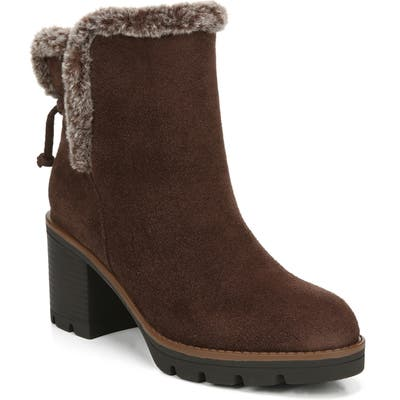 Naturalizer Valene Waterproof Bootie, Brown