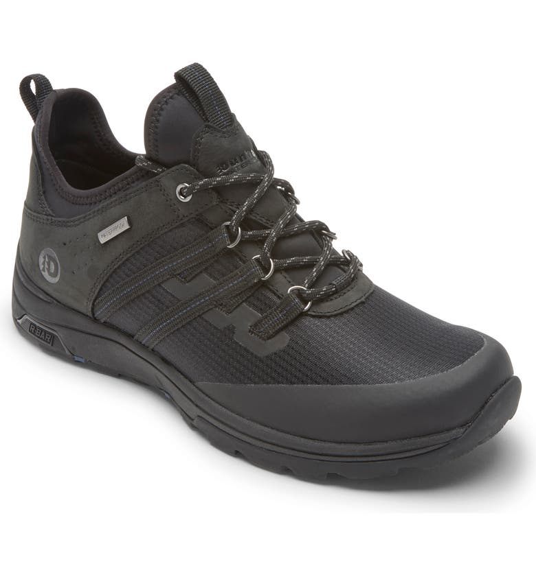 DUNHAM Cade Sport Waterproof Sneaker, Main, color, BLACK