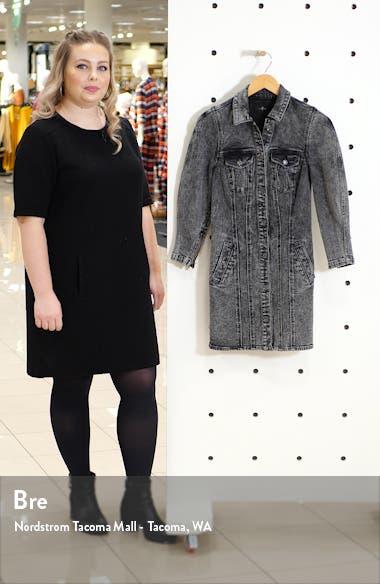 Long Sleeve Denim Shirtdress, sales video thumbnail