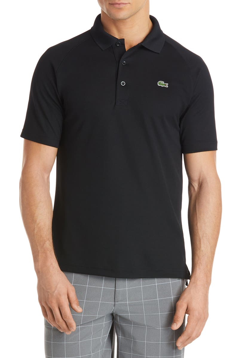LACOSTE Ultra Dry Polo, Main, color, 001