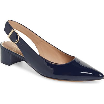 Linea Paolo Cella Slingback Pump- Blue