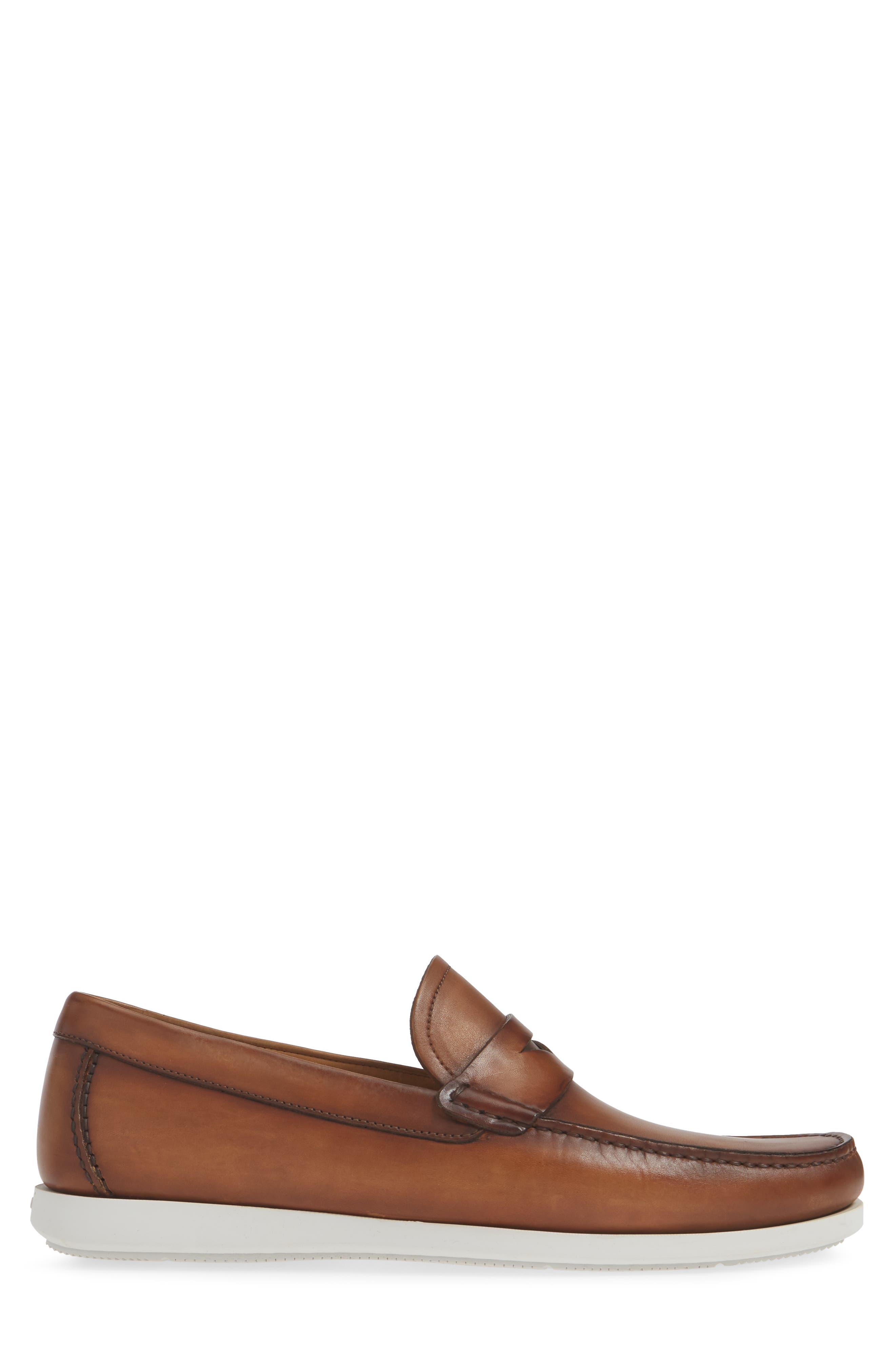 ,                             Laguna Penny Loafer,                             Alternate thumbnail 3, color,                             TOBACCO LEATHER