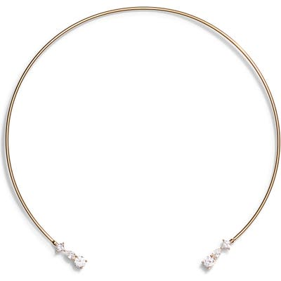 Nordstrom Cubic Zirconia Open Collar Necklace