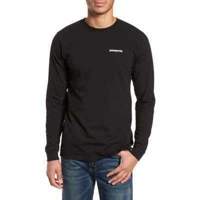 Patagonia Responsibili-Tee Long Sleeve T-Shirt, Black