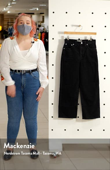 Slim Fit Wide Leg Jeans, sales video thumbnail