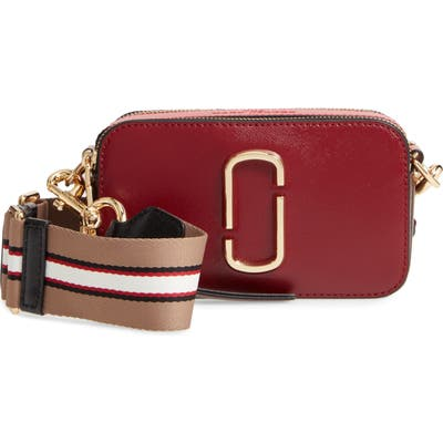The Marc Jacobs Snapshot Crossbody Bag - Red