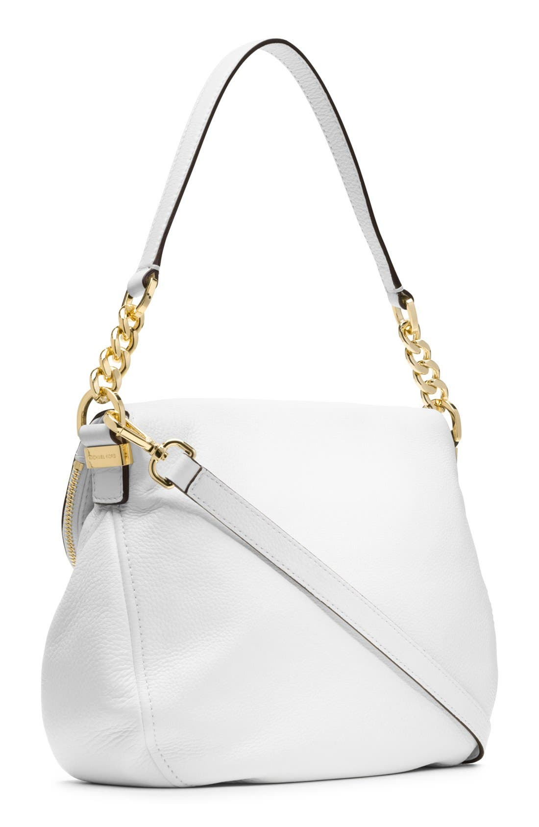 ,                             'Bedford Tassel - Medium' Convertible Leather Shoulder Bag,                             Alternate thumbnail 8, color,                             110