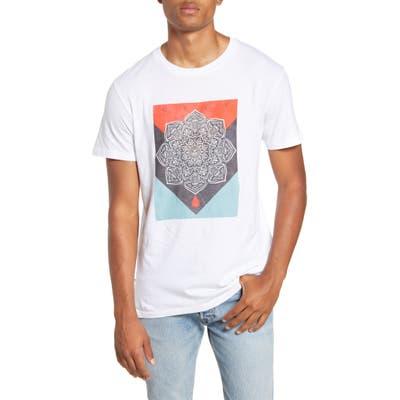 Obey Blood & Oil Mandala Crewneck T-Shirt