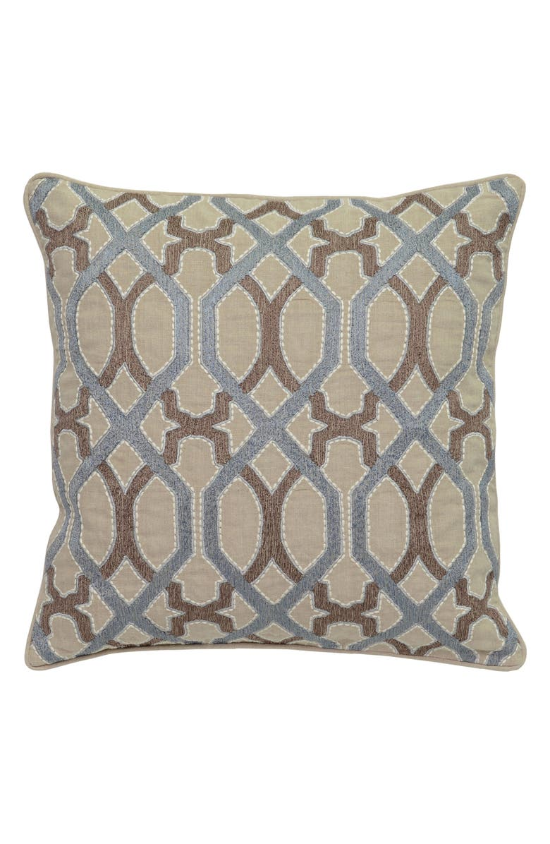 VILLA HOME COLLECTION Pearle Accent Pillow, Main, color, 400