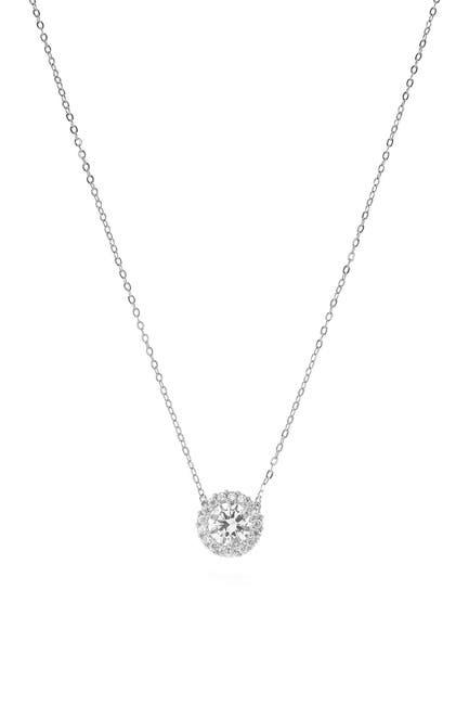 Image of CZ By Kenneth Jay Lane CZ Pave Pendant Necklace
