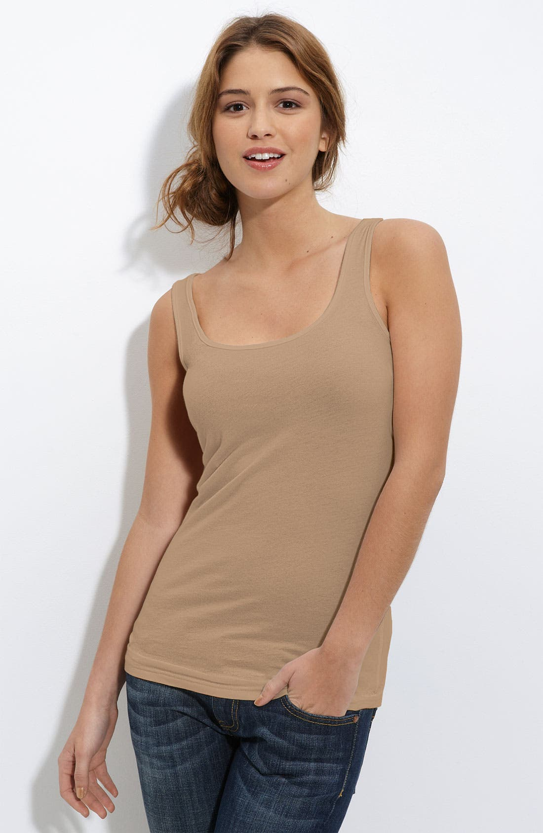 ,                             Double Scoop Neck Tank,                             Main thumbnail 101, color,                             280