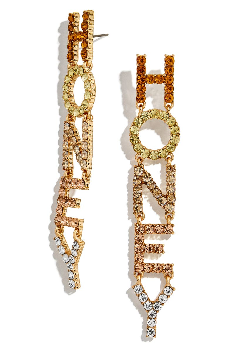 Honey Crystal Drop Earrings by Baublebar