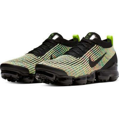 Nike Air Vapormax Flyknit 3 Sneaker, Black