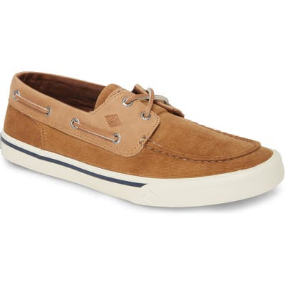Sperry Bahama Ii Corduroy Boat Shoe- Brown