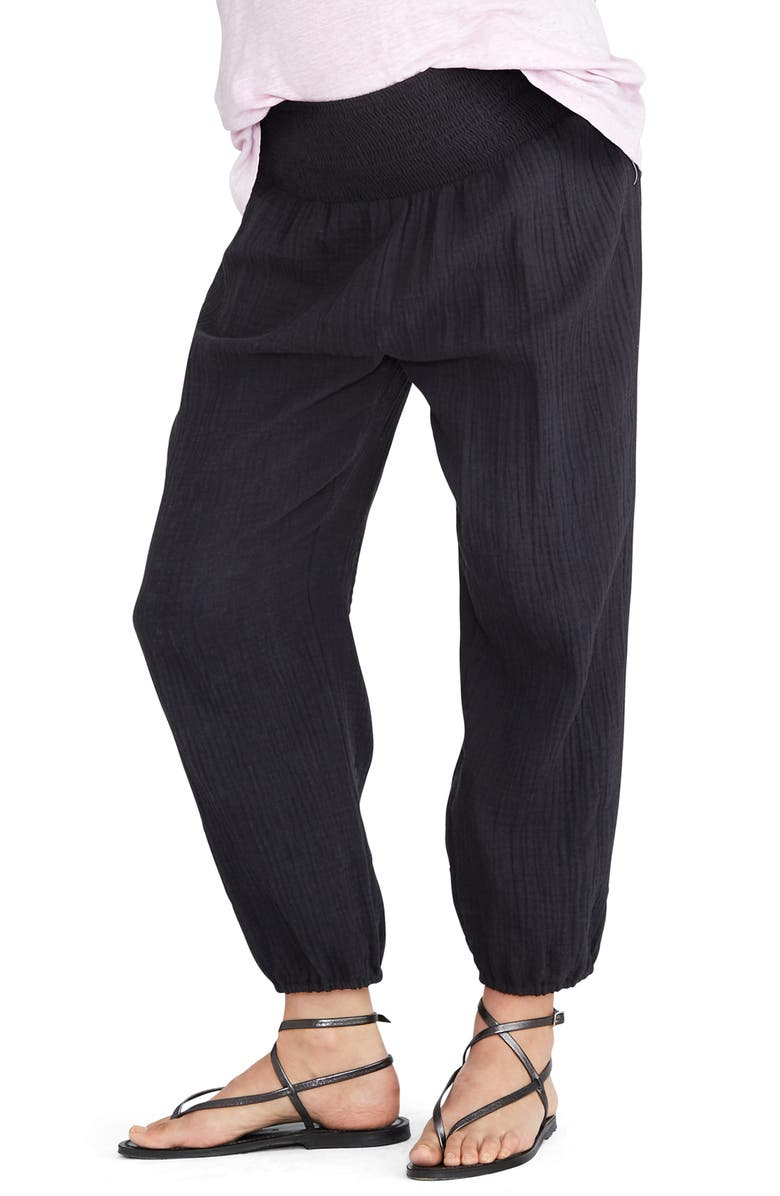 HATCH Beach Pants, Main, color, BLACK