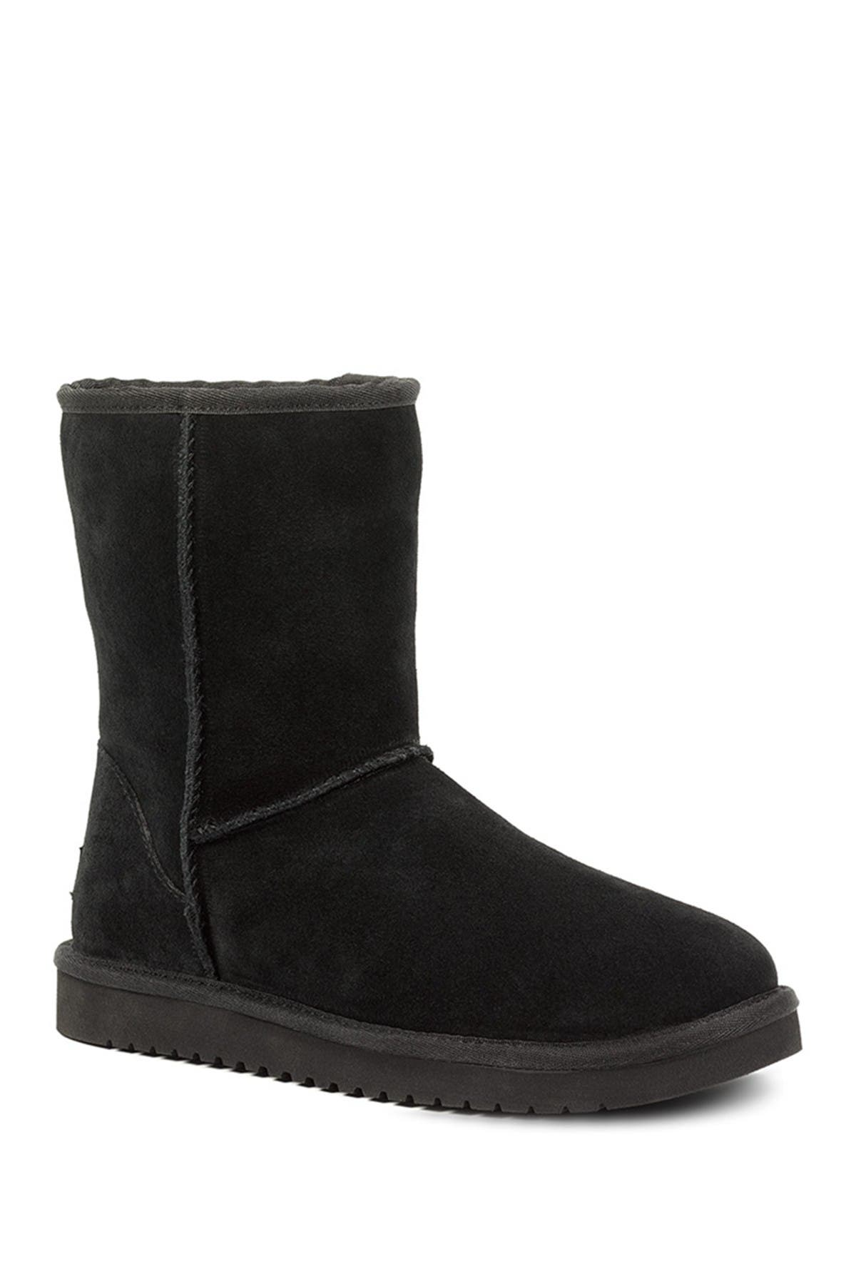 Image of KOOLABURRA BY UGG Classic Short Genuine Shearling & Faux Fur Lined Boot - Wide Width Available