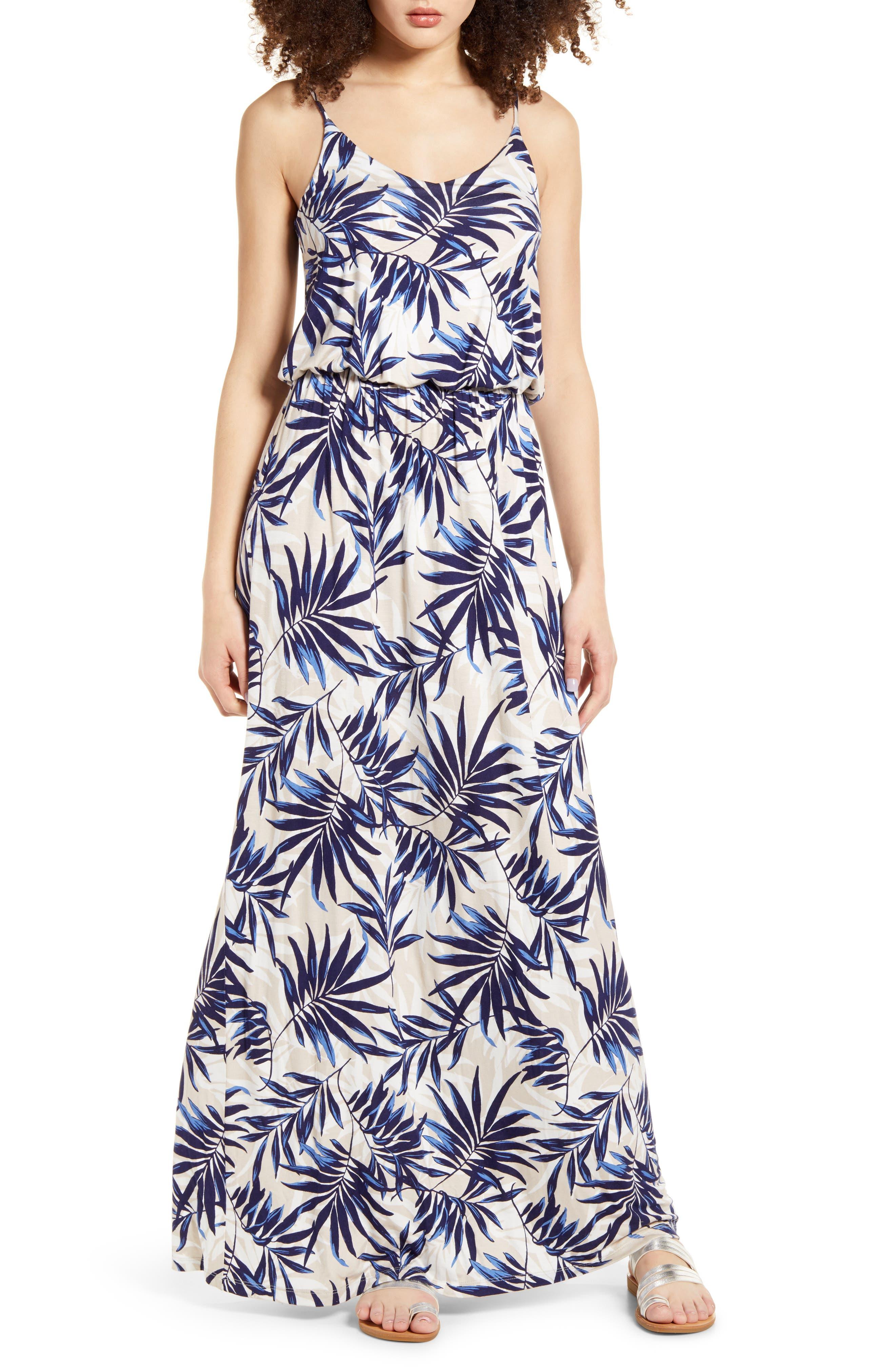 Columbia Womens Slack Water Knit Maxi Dress