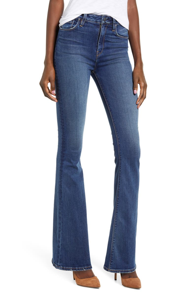 HUDSON JEANS Holly High Waist Flare Jeans, Main, color, PRELUDE