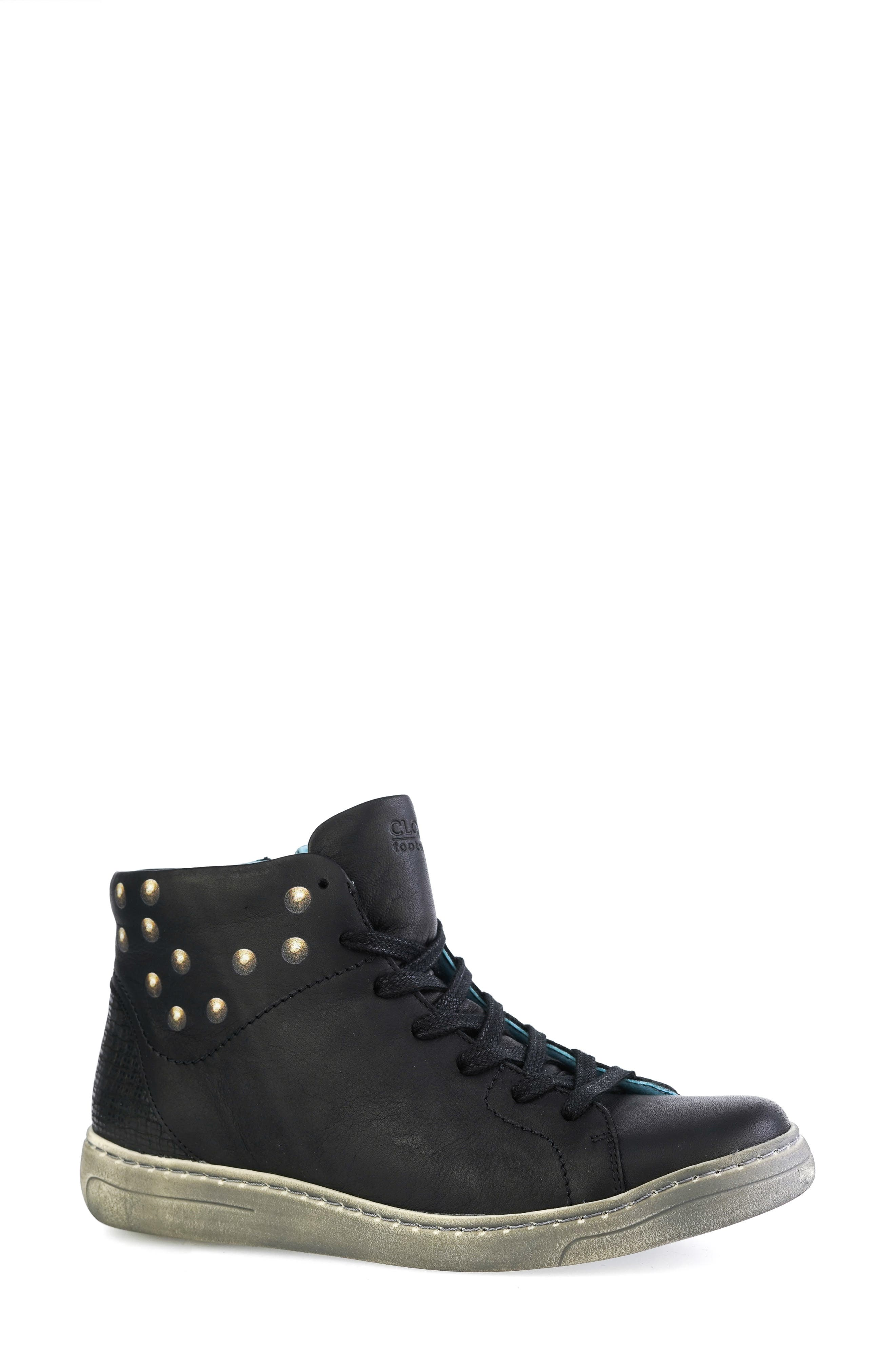 Flash High Top Leather Sneaker