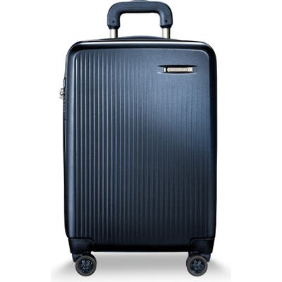 Briggs & Riley 22-Inch Domestic Expandable Spinner Wheeled Carry-On - Blue