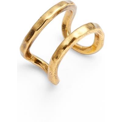 Karine Sultan Adjustable Openwork Ring