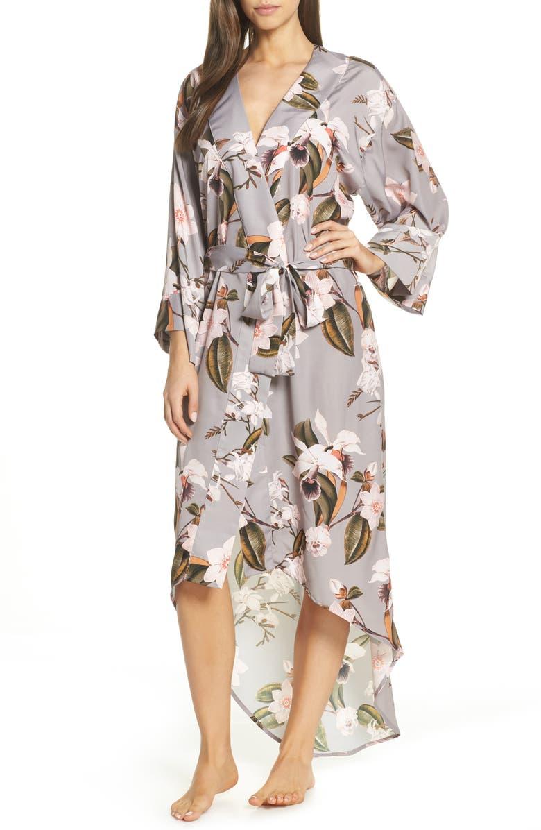 MAISON DU SOIR Isabella High/Low Robe, Main, color, 530