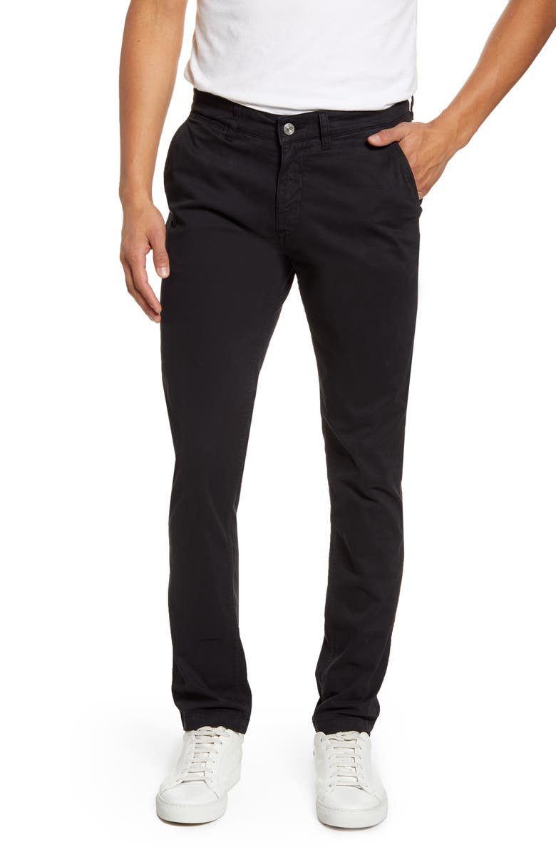 NN07 Marco 1400 Slim Fit Chinos, Main, color, 001