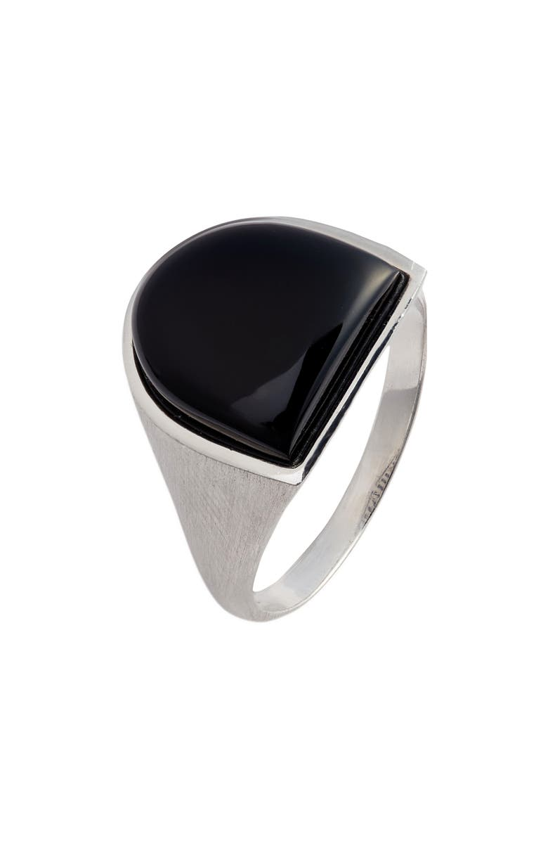 DEAN DAVIDSON Onyx Shield Ring, Main, color, 040