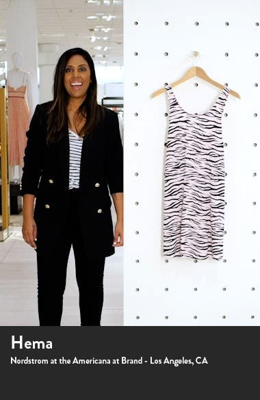 Animal Print Jersey Chemise, sales video thumbnail