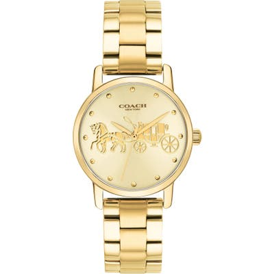 Coach Grand Bracelet Watch, 2m