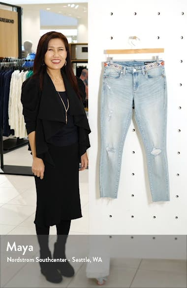 Indigo Reade Crop High Waist Jeans, sales video thumbnail