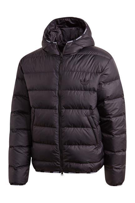Image of adidas Lightweight Down Zip Through Puffer Jacket
