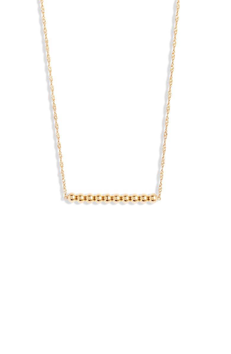 Ellie Vail River Bar Pendant Necklace