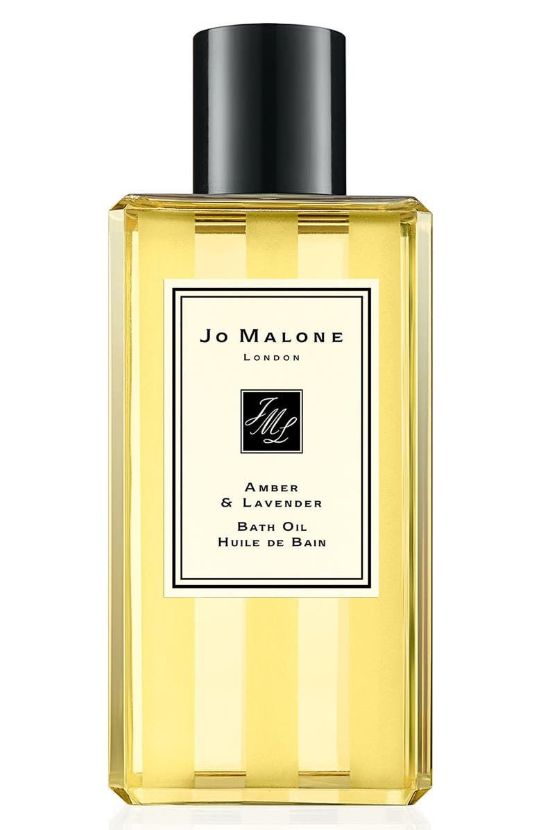 JO MALONE LONDON<SUP>™</SUP> Amber & Lavender Bath Oil, Main, color, 000