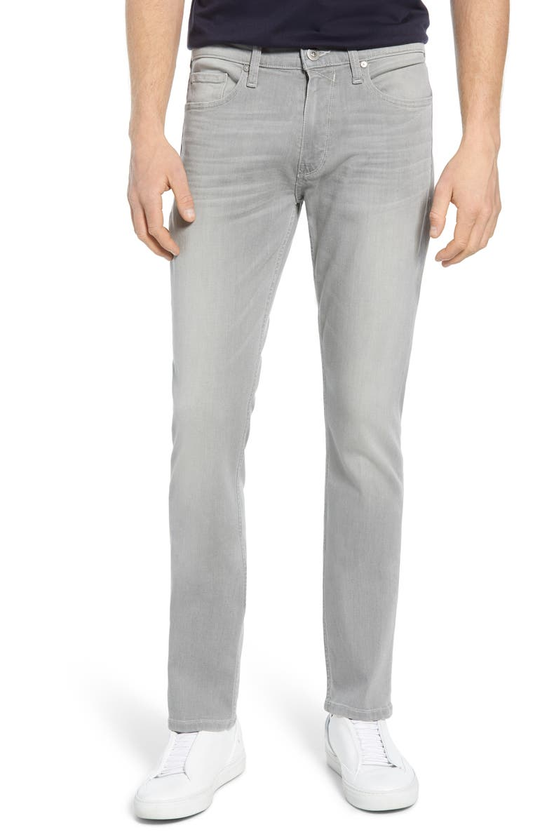PAIGE Transcend - Lennox Slim Fit Jeans, Main, color, BELLINGER