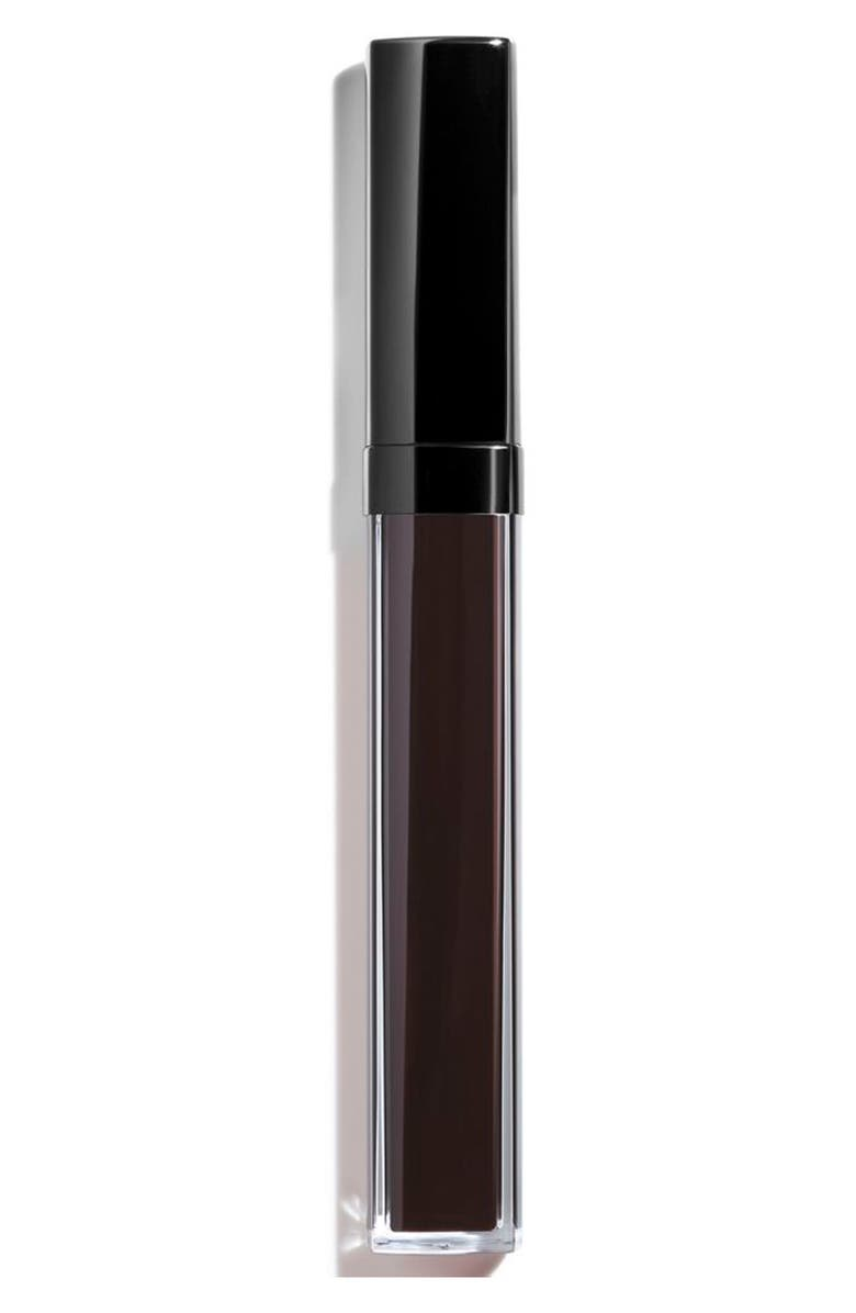CHANEL ROUGE COCO GLOSS <br />Moisturizing Glossimer, Main, color, 816 LAQUE NOIRE