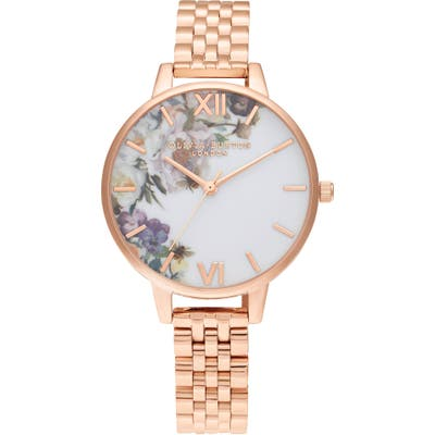 Olivia Burton Enchanted Garden Bracelet Watch,