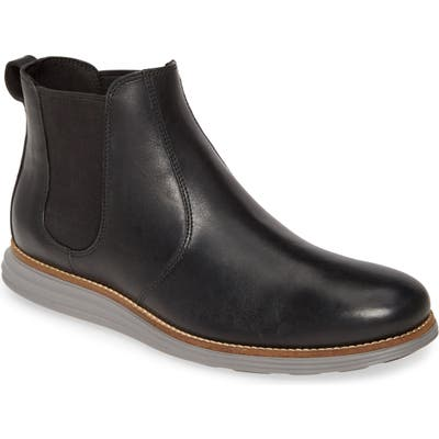 Cole Haan Original Grand Waterproof Chelsea Boot, Black