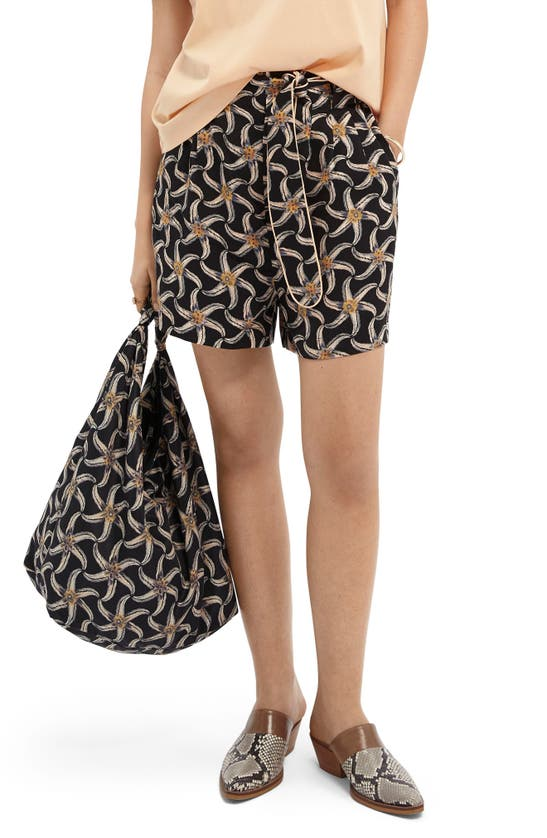 Scotch & Soda STARFISH PRINT SHORTS