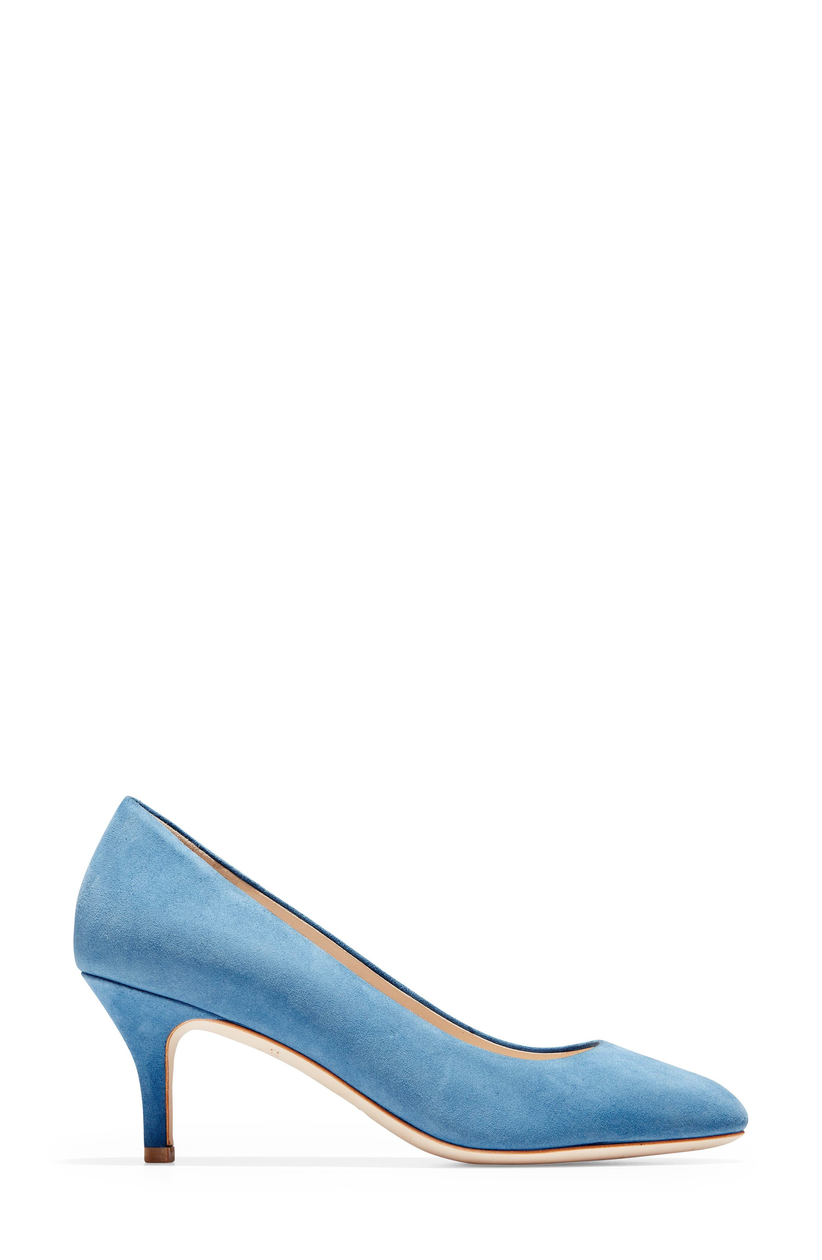 ,                             Ava Pump,                             Alternate thumbnail 3, color,                             PACIFIC COAST SUEDE