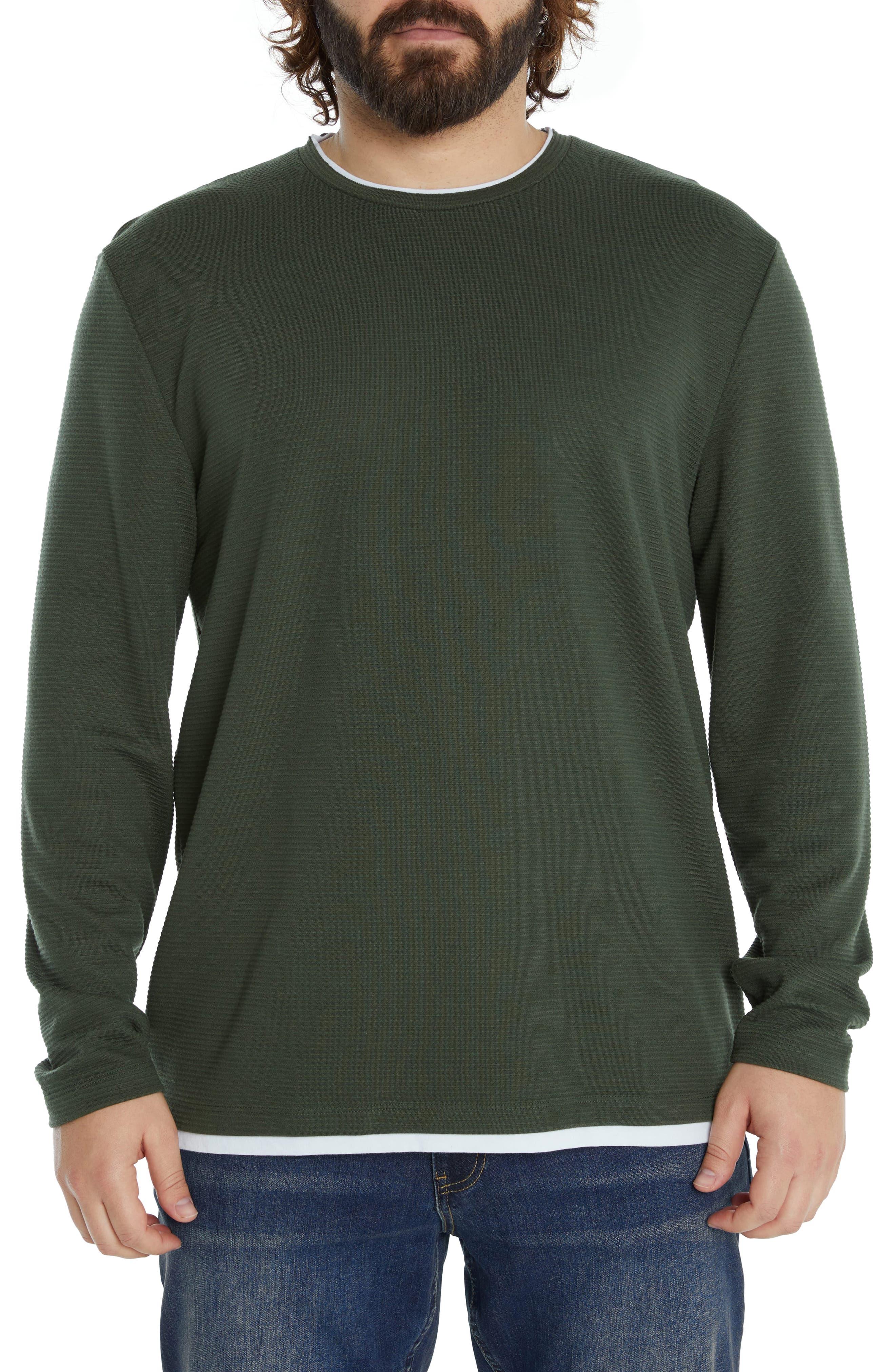Layered Look Sweatshirt