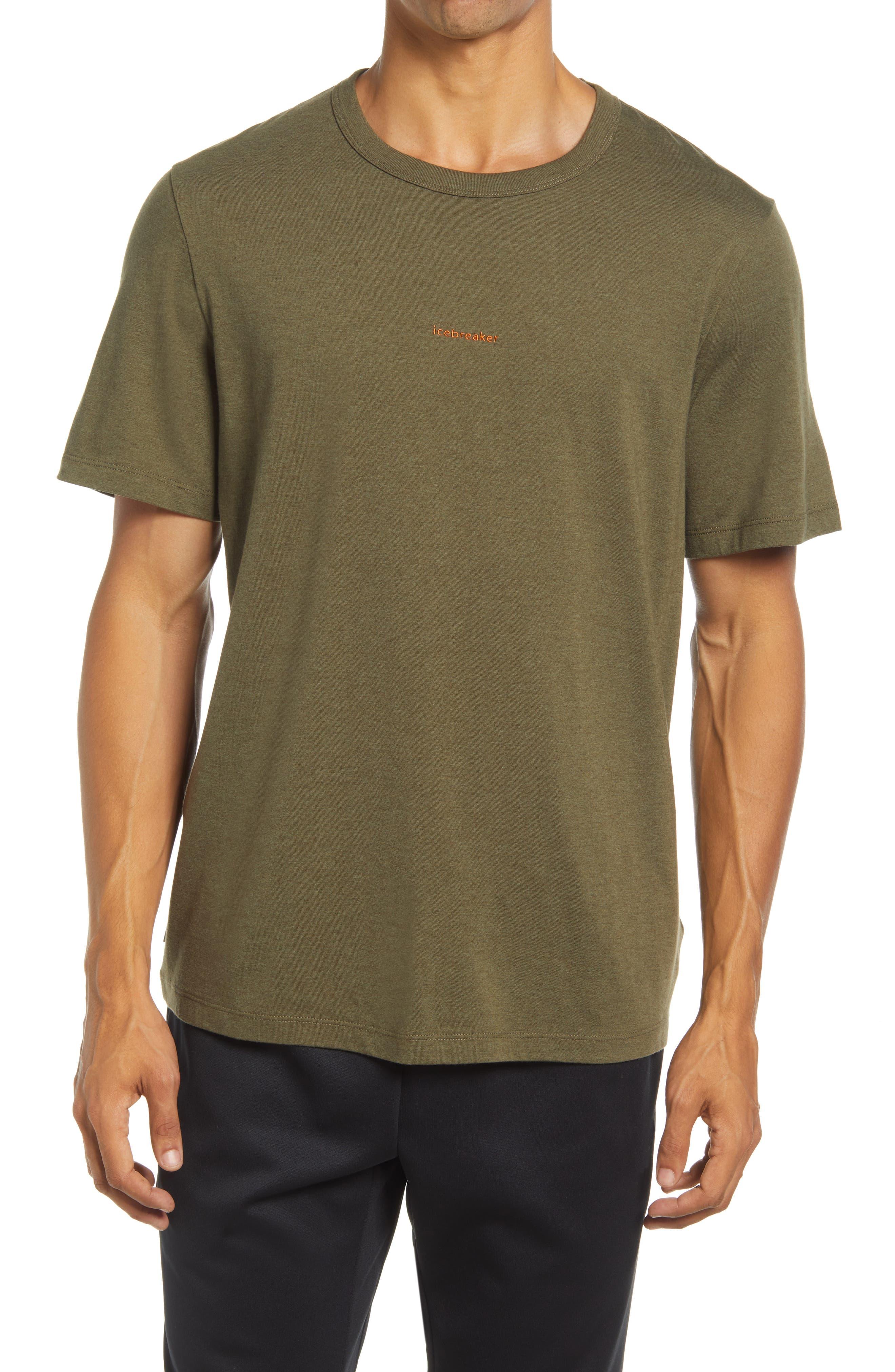 Central Merino Wool & Organic Cotton T-Shirt