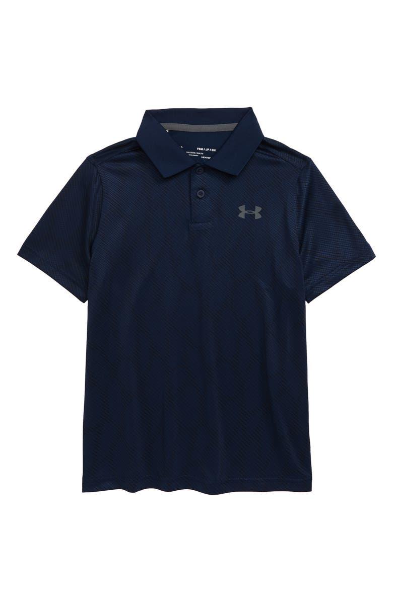 UNDER ARMOUR Performance Polo, Main, color, BLUE